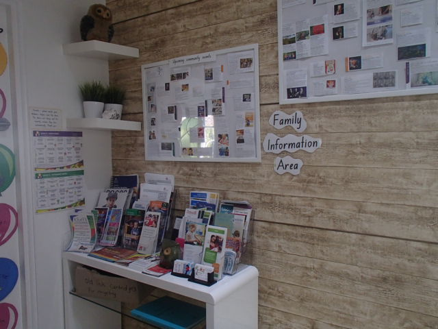 Foyer - Family information area