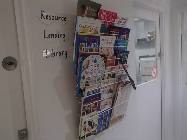 Foyer - resource lending library